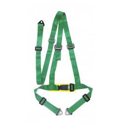 """3 точкови - HARNESSES"""" (50мм), зелен"""