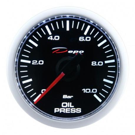 Датчици DEPO Night glow серия 52мм DEPO racing датчик Налягане на маслото- Night glow series | race-shop.bg