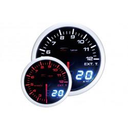 DEPO racing датчик за температура на отработените газове - с двоен изглед