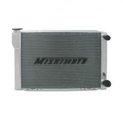 """Алуминиев състезателен радиатор MISHIMOTO- UNIVERSAL Mishimotorsports 26""""x17""""x3.5"""" Dual Pass Race радиатор"""