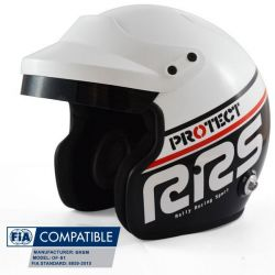 Каска RSS Protect JET с FIA 8859-2015, Hans, черен