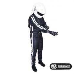 FIA състезателен гащеризон RRS EVO Diamond черен