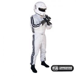 FIA състезателен гащеризон RRS EVO Diamond сребърен