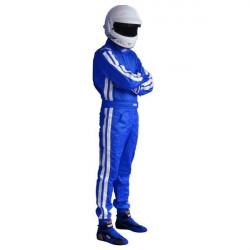 FIA състезателен гащеризон RRS EVO Diamond син