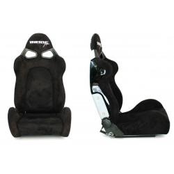 Състезателна седалка CUGA Bride style ЧЕРНА велур