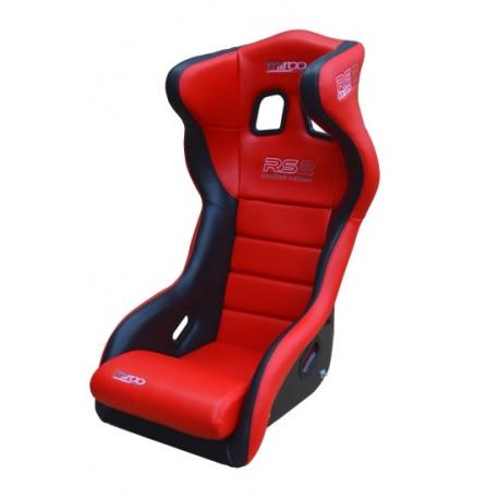 Спортни седалки с одобрение на FIA FIA Състезателна седалка MIRCO RS2 Vynil | race-shop.bg