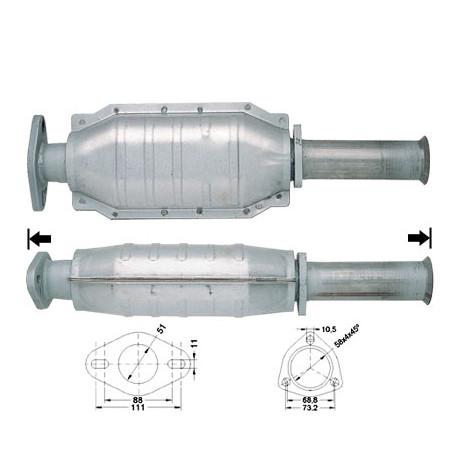 DPF катализатори Magnaflow за конкретени модели Magnaflow катализатор за ALFA ROMEO | race-shop.bg