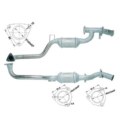 DPF катализатори Magnaflow за конкретени модели Magnaflow катализатор за AUDI | race-shop.bg