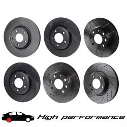 Задни спирачни дискове Rotinger High Performance 20208HP, (2бр.)