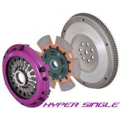 Комплект за съединител Exedy Racing Hyper Single Cerametallic, Sprung