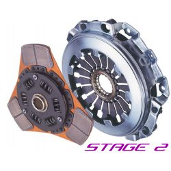 Комплект за съединител Exedy Racing Stage 2 Sports Cerametallic, Sprung