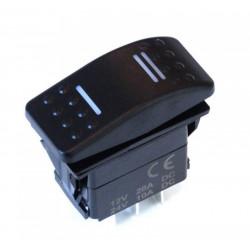 Универсален превключвател Rocker с LED