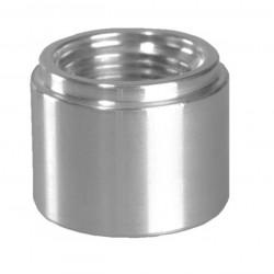 Фитинги на заваряване - женски AN10, алуминий