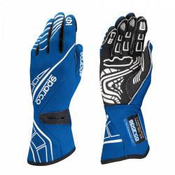Състезателни ръкавици Sparco LAP RG-5 с FIA син