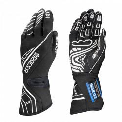 Състезателни ръкавици Sparco LAP RG-5 FIA черен-бял