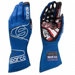 Състезателни ръкавици Sparco Arrow EVO RG-7 с FIA (външни шевове) син
