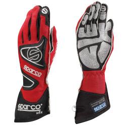 Състезателни ръкавици Sparco Tide RG-9 с FIA (външни шевове) червен