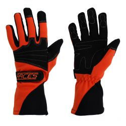Състезателни ръкавици - RACES Classic EVO оранжев