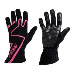 Състезателни ръкавици - RACES Premium Silicone розов