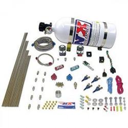 Нитро система (NX) Директен порт за алкохол Piranha за 4-цилиндрови двигатели (4,5L)
