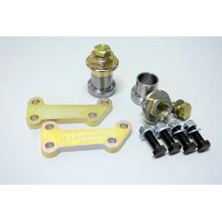 5 адаптери за смяна на фланци и спирачки комплект IRP BMW E30 (E38 brembo calipers)