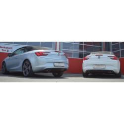 70мм Спортна Дуплексна изпускателна система Opel Cascada - ECE одобрено (861166BTD-X)