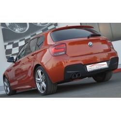 70мм Спортна изпускателна система заглушител BMW 1er F20/F21 - ECE одобрено (861351-X)