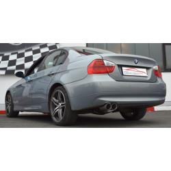 70мм Спортна изпускателна система заглушител BMW E90 - ECE одобрено (861362-X)