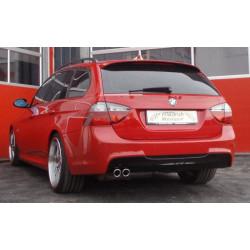 70мм Спортна изпускателна система заглушител BMW E91 - ECE одобрено (861362B-X)