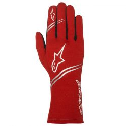 Alpinestars Gloves Tech-1 Start with FIA Approval - Red