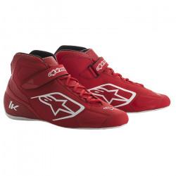 Races Shoes ALPINESTARS Tech-1 K - Black/White/Red