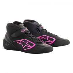Races Shoes ALPINESTARS Tech-1 K - Black/Pink