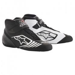 Races Shoes ALPINESTARS Tech-1 KX - Black/White