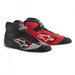 Races Shoes ALPINESTARS Tech-1 KX - Black/Red/White