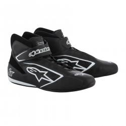 Races Shoes ALPINESTARS FIA Tech 1 T - Black/White