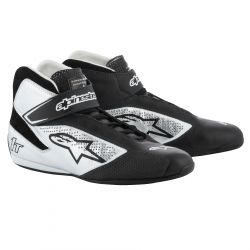 Races Shoes ALPINESTARS FIA Tech 1 T - Black/Silver