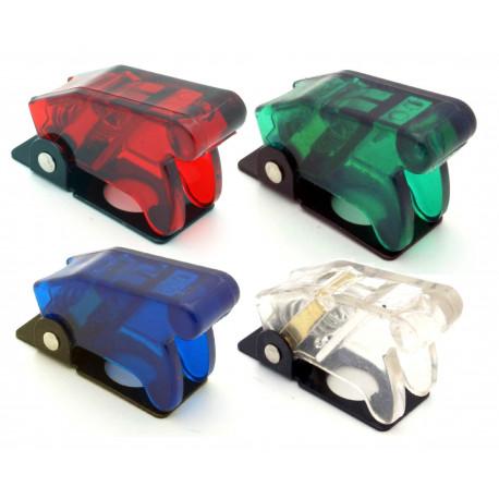 Стартови бутони и превключватели Прозрачен капак за превключвател - различни цветове   race-shop.bg