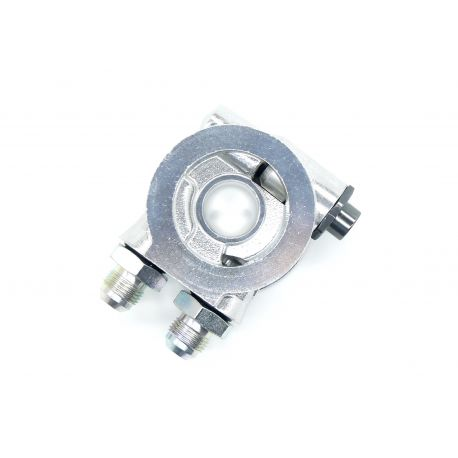 Адаптери за маслени филтри Вход / изход на адаптер за масло с thermostat AN10 | race-shop.bg