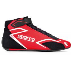 Състезателен обувки Sparco SKID FIA червен