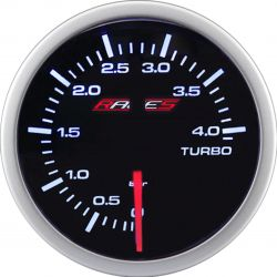 Gauge RACES Clubman - Boost pressure 4bar
