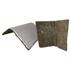 A-shaped heat shield - 0.5 m x 1.2 m