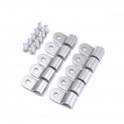 Скоби за маркуч / тръба от неръждаема стомана
