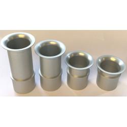Superlight aluminium air horn for Weber 40/45 DCOE