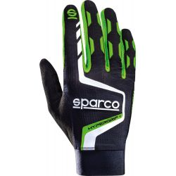 Ръкавици Sparco Hypergrip зелени