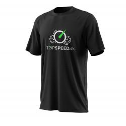Тениска TOPSPEED черна