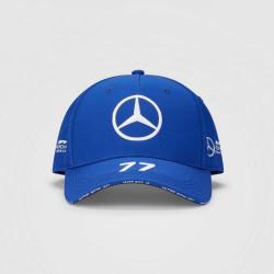 MERCEDES AMG PETRONAS V. BOTTAS шапка - синя