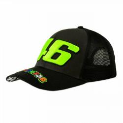 VALENTINO ROSSI Trucker шапка - черна