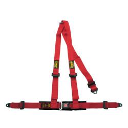 3 точкови предпазни колани OMP, червен