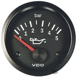VDO датчик Налягане на маслото(0-5 BAR) - cocpit vision series