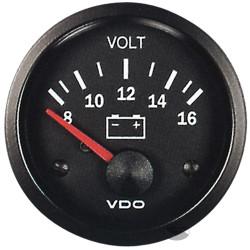 VDO датчик волтомер - cocpit vision series